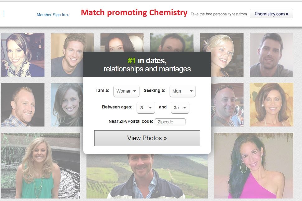 Match com chemistry test