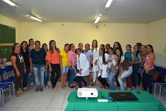 FRONTEIRAS (PI) - NUTRICIONISTA REALIZA PALESTRA DE HIGIENE E MANIPULAÇÃO DE ALIMENTOS À REDE PÚBLICA ESCOLAR