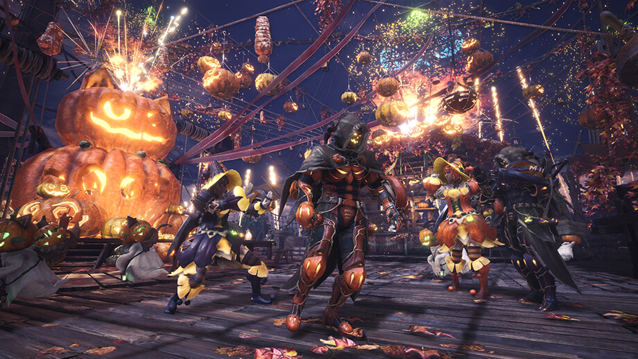 Monster Hunter: World's Up And Coming Autumn Harvest Fest Event