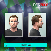 PES 6 Faces Harry Kane by El SergioJr