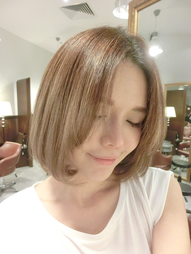 Qiuqiu My Awesome Ash Brown Hair