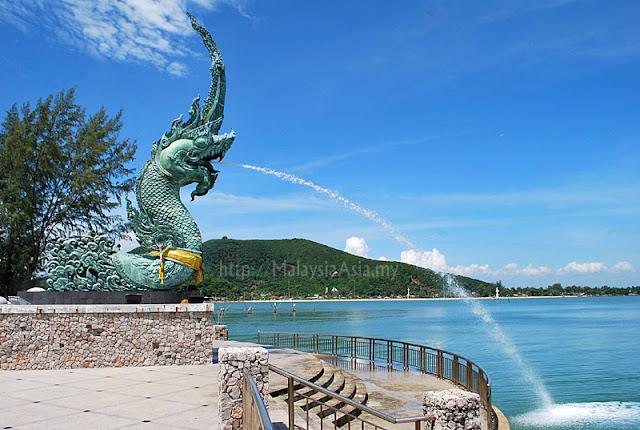 Hat Yai Serpent Nag Statue