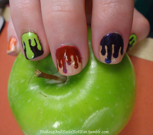 nail art nail Halloween Nail Art
