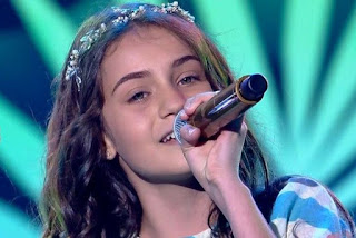 Ranna Andrade é classificada no The Voice Kids