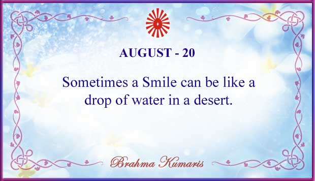 Thought For The Day August 20