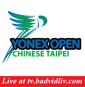 Chinese Taipei Open 2018 live streaming