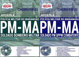 Apostila concurso PM Maranhão 2017 para soldados PMMA.
