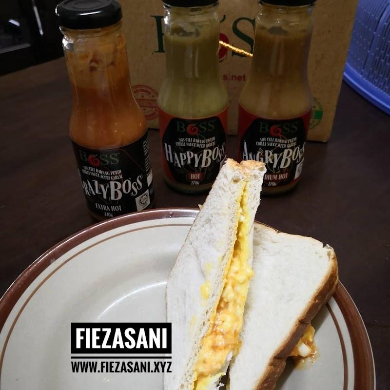 Dapur FiezaSani - Sandwich Telur