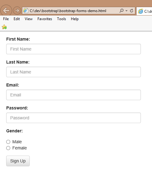 Tech Junkie Blog Css Using Bootstrap To Make Your Form Fields Look