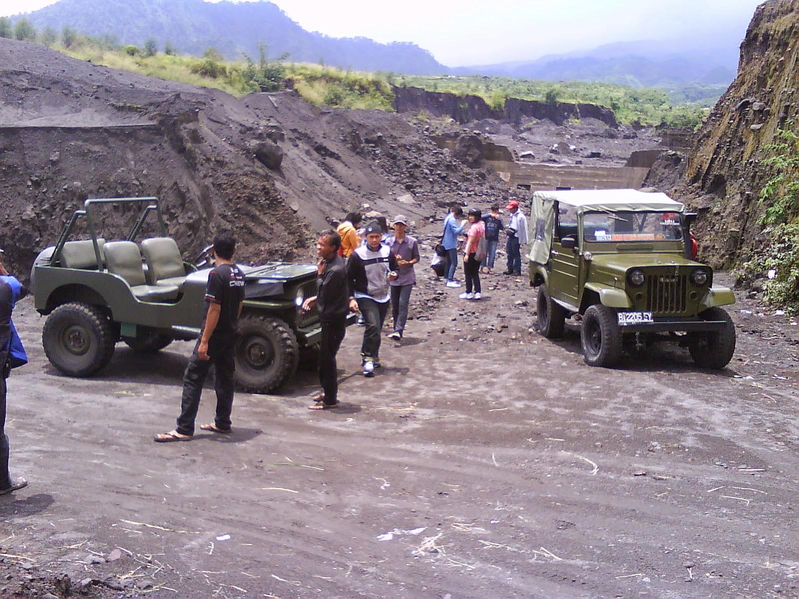 Outbound Semarang - WISATA LAVA TOUR MERAPI