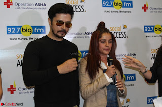 Piaa Bajpai launches TB Awareness Campaign with Darshan Kumaar 27.JPG
