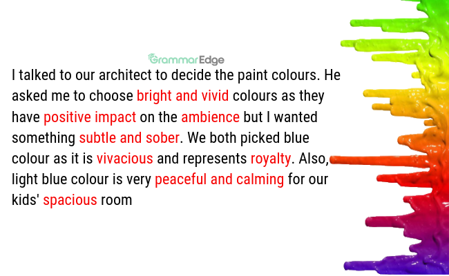 IELTS Vocabulary for Colours