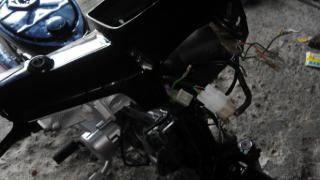 Gambar pemeriksaan wiring motor