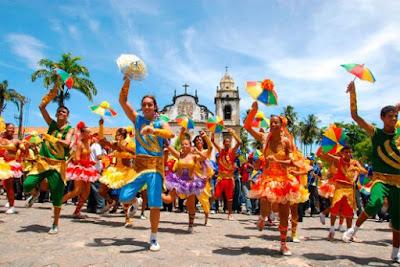 Prévias do Carnaval  de Olinda para esse domingo  - 04/02/2018