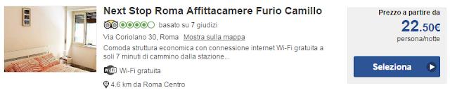 Next Stop Roma Affittacamere Furio Camillo