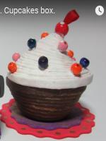 http://manualidadesreciclajes.blogspot.com.es/2016/11/caja-cupcake-con-papel-de-periodico.html