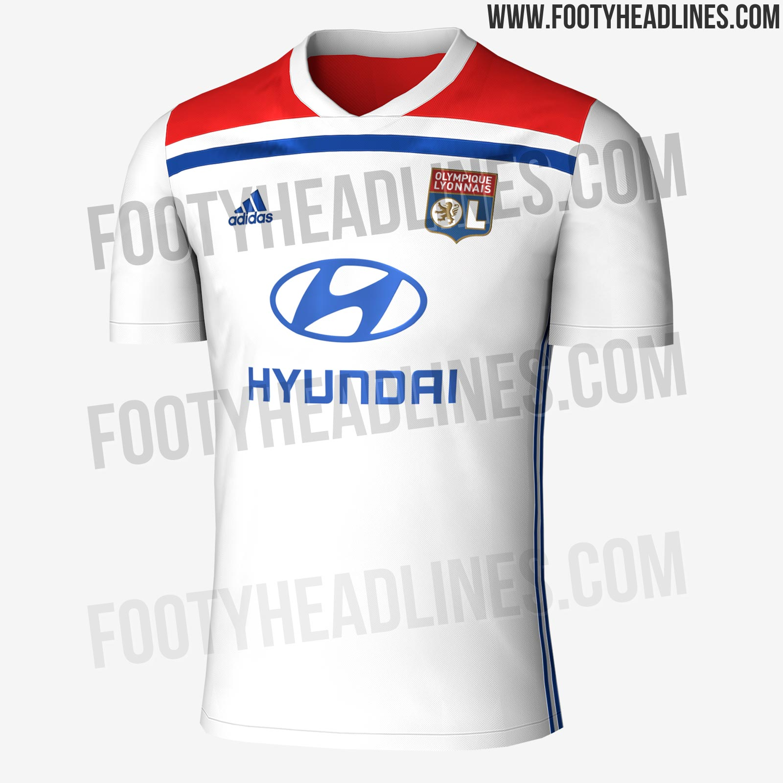 Olympique Lyon 18-19 Home   Away Kit Leaked  a55409bbc