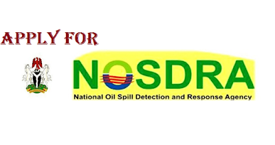 Apply Here For NOSDRA Recruitment 2018/2019 | Urgent Vacancies