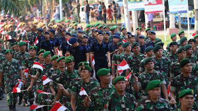 Flag Relay Merah Putih Sabang-Merauke Tiba di Palembang