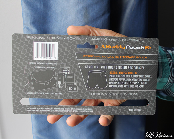 The Buddy Pouch A versatile, belt-free pouch