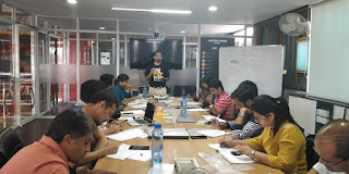 Mobile testing workshop participants