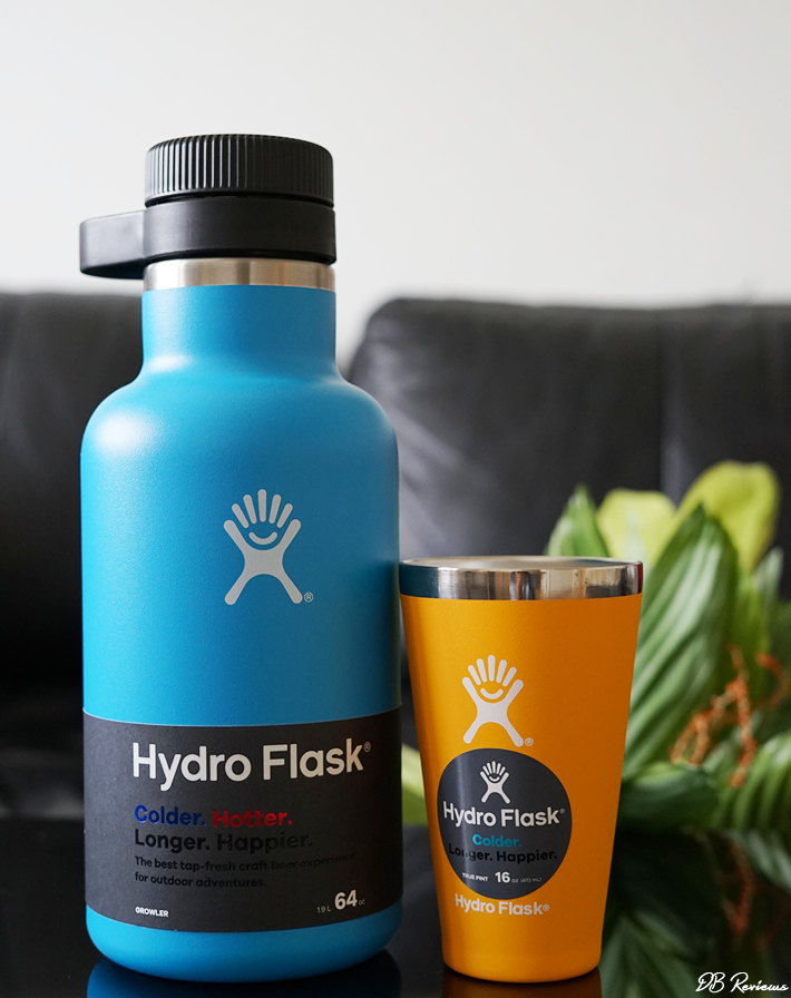 Hydro Flask - Growler and True Pint