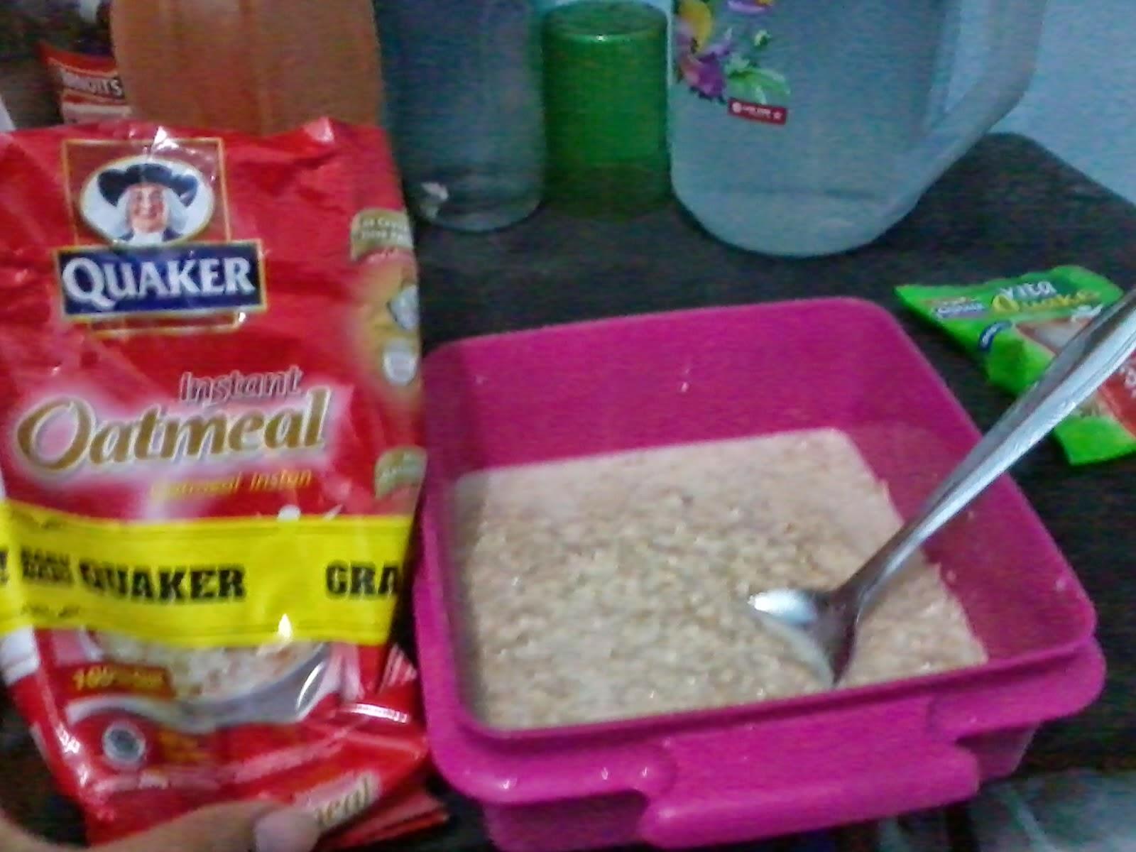 Apakah bisa diet dengan quaker oat?