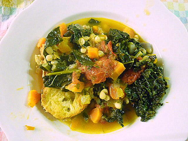 wat ik gegeten heb: ribollita met cavolo nero