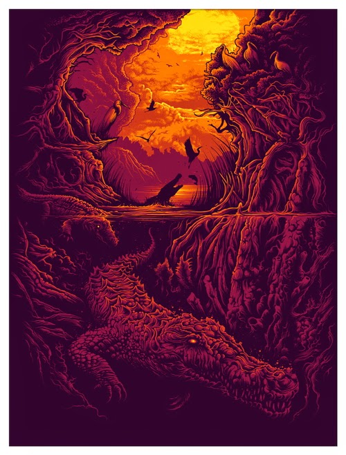 c3b6956e9 The Geeky Nerfherder: Cool Art: 'Rhizophora' by Dan Mumford