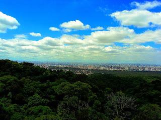 Vista de São Paulo do Alto da Pedra Grande