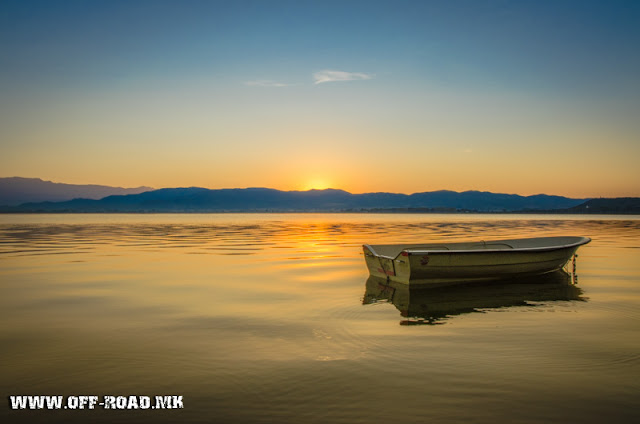 Lake Dojran, Macedonia - Sunrise scene
