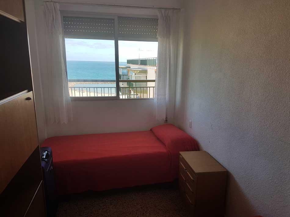 apartamento en alquiler calle les barraques benicasim dormitorio