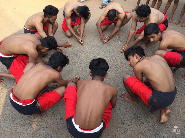 Danza de Kerala India