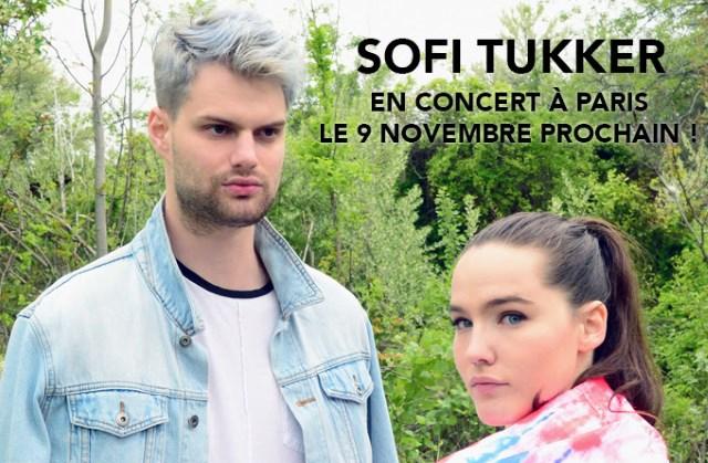 SOFI TUKKER en concert à Paris le 9 novembre