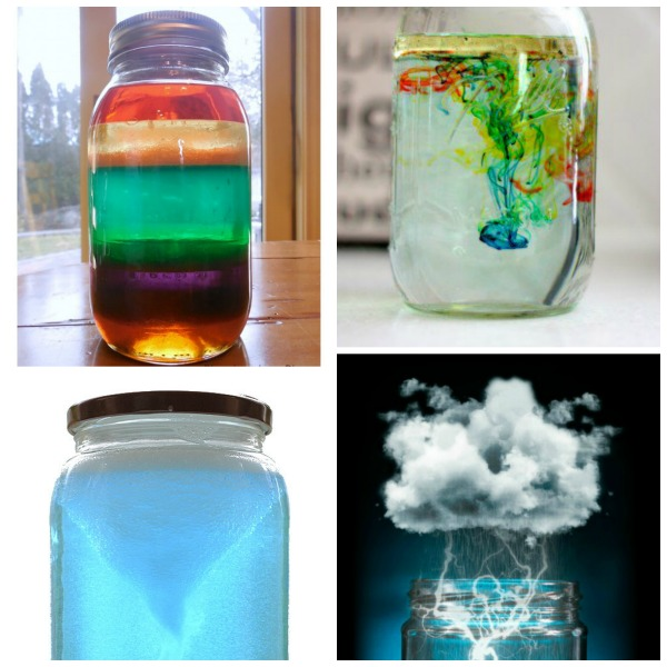 Have an empty jar?  Try one of these mind blowing experiments!