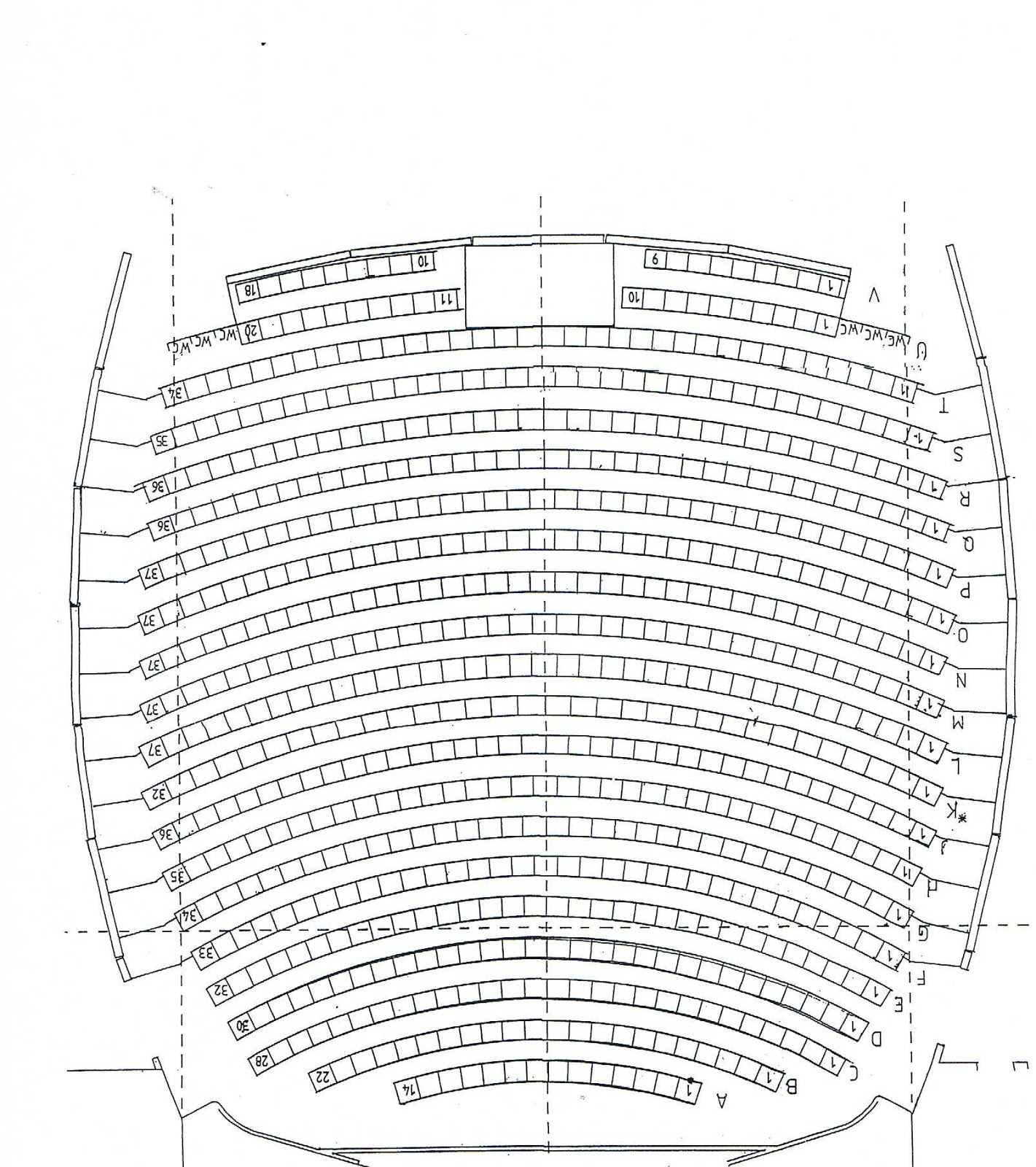 World Theatre Charters Towers World Theatre Mt Leyshon Auditorium Seating Chart