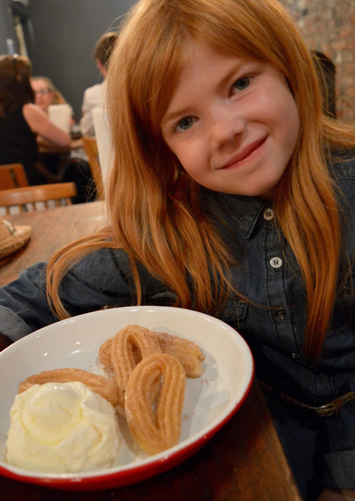 The Fat Hippo Underground with Kids | Simply the Best Burgers in Newcastle -Churros Dessert