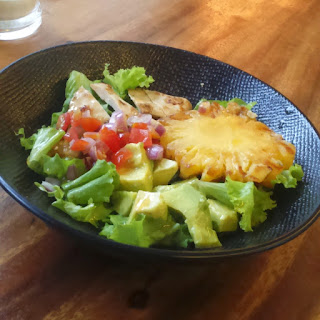 hooked salad
