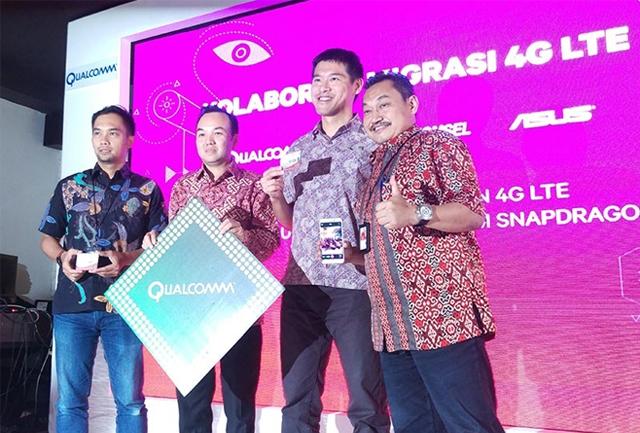 ASUS Penetrasi 4G Indonesia Dengan Merangkul Telkomsel dan Qualcomm