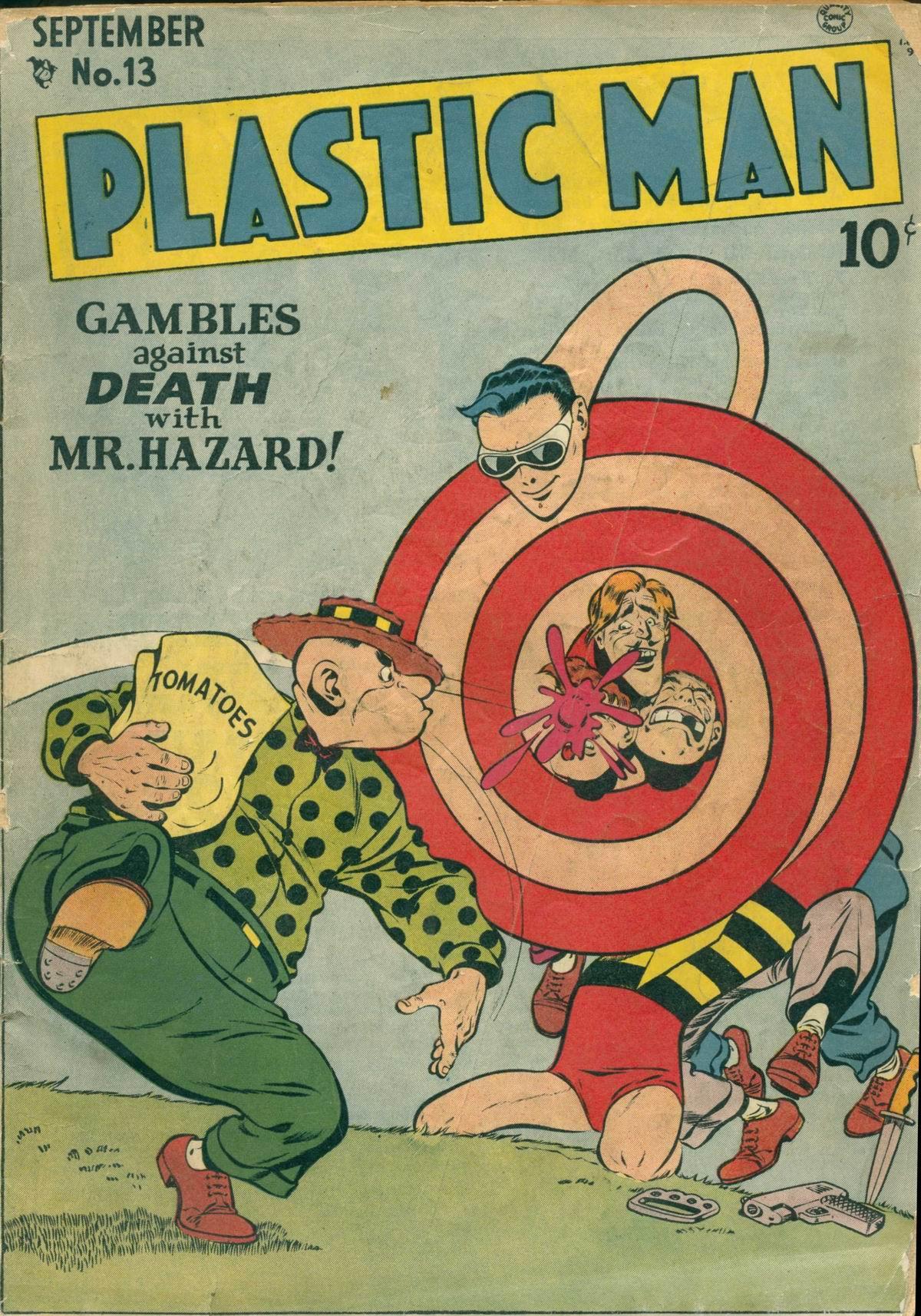 Plastic Man (1943) 13 Page 1