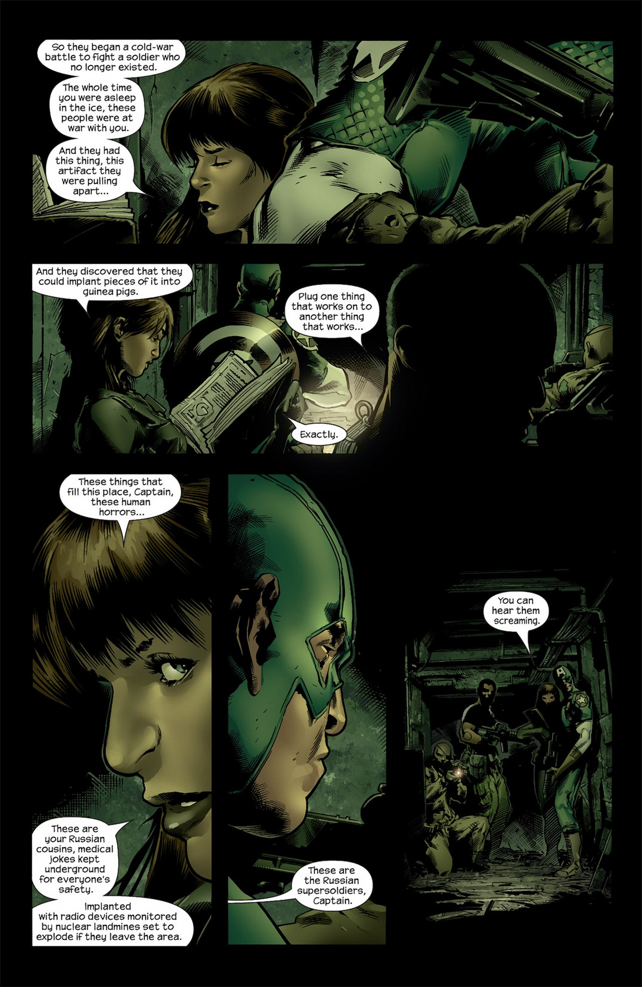 Read online Ultimate Nightmare comic -  Issue #4 - 4