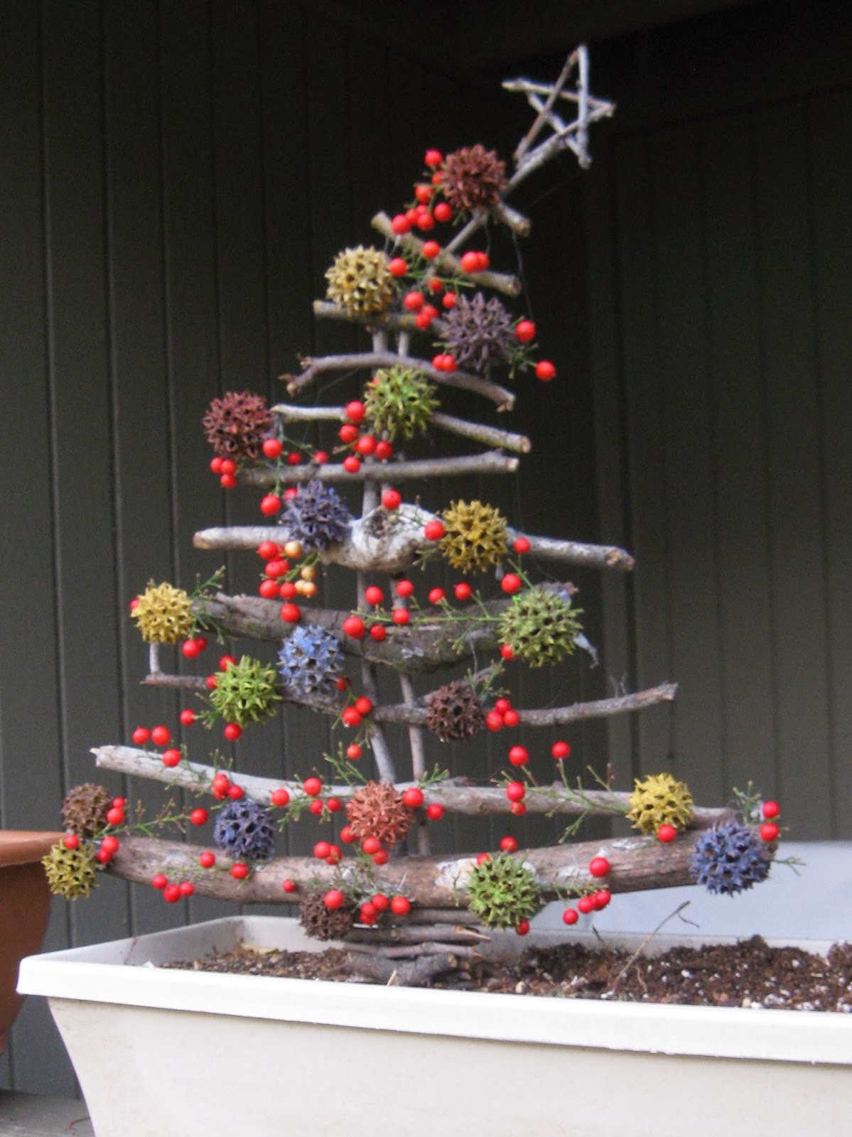The Art Of Up Cycling Eco Friendly Christmas Trees