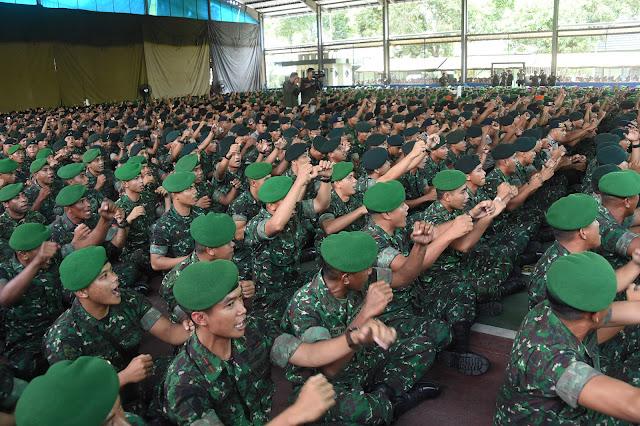 Panglima TNI : Soliditas TNI - Polri Ciptakan Stabilitas Politik dan Keamanan