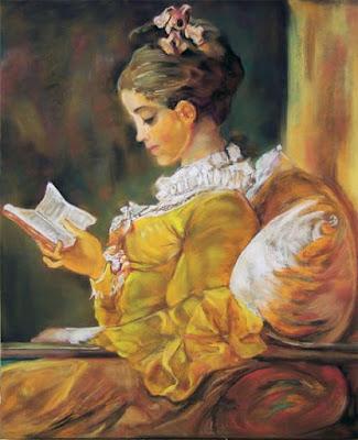 """""""La liseuse"""", Fragonard, 1772"""