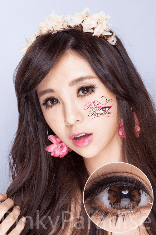 G&G Tulips Brown Circle Lenses (Colored Contacts)