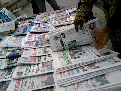 Latest Nigeria Newspapers Headlines for Today, Tuesday, May 16, 2017