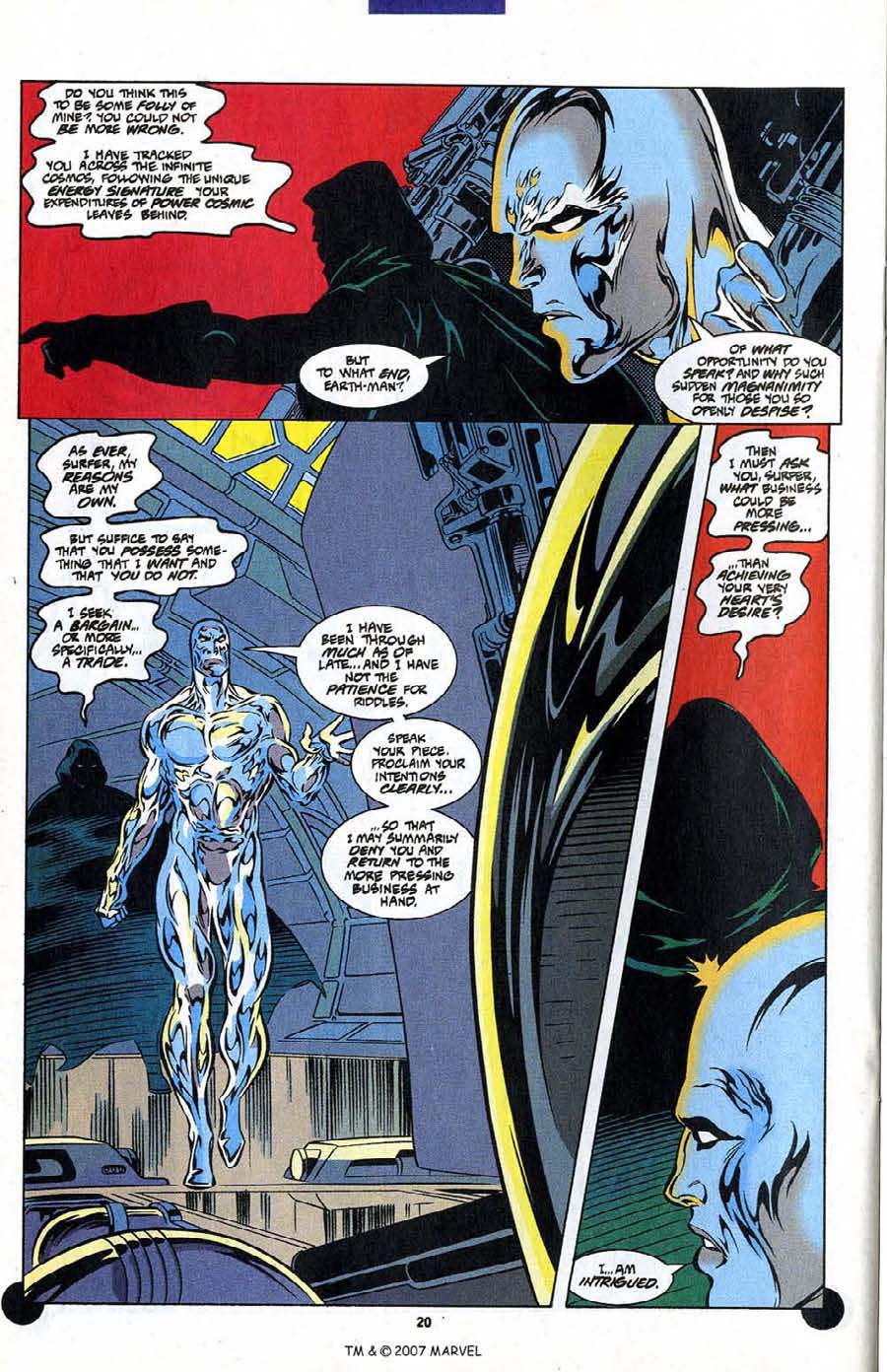 Read online Silver Surfer (1987) comic -  Issue #106 - 22