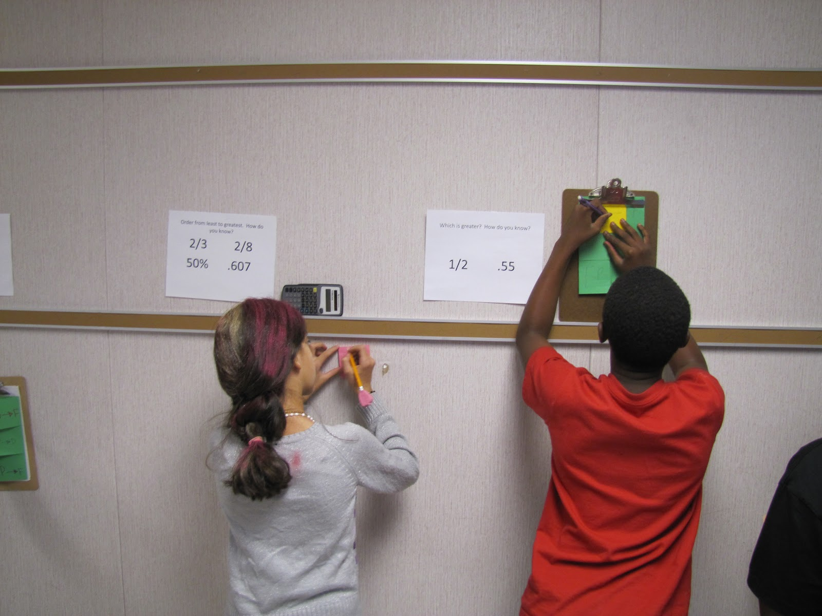 Learning With Experience Gallery Walk