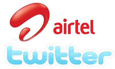 airtel,twitter,image,free sms tricks