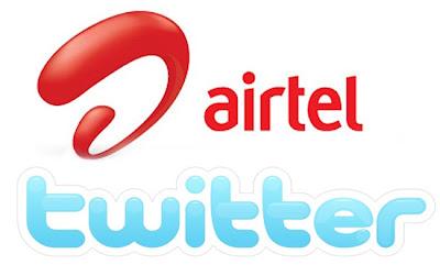 airtel,twitter,image,free sms tricks